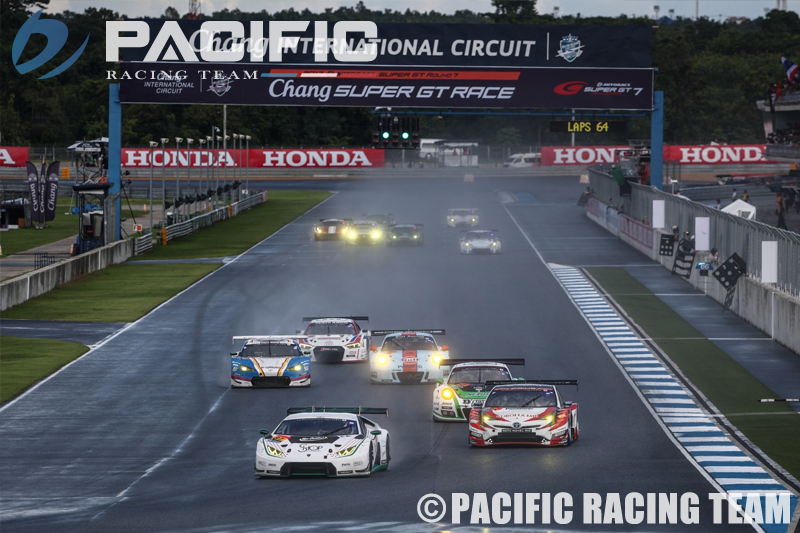 SUPER GT Rd.7 CHANG レースレポート